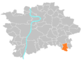 Location map municipal district Prague - Kolovraty.PNG