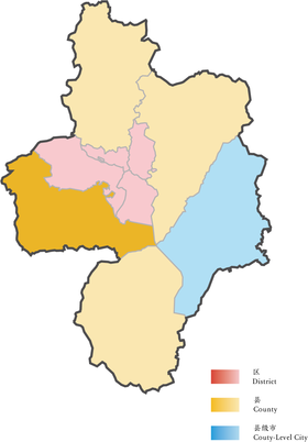 Location of Feixi in Hefei.png