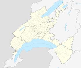 (Voir situation sur carte: canton de Vaud)