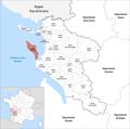 Locator map of Kanton Île d'Oléron 2019.png