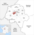 Locator map of Kanton Ballan-Miré 2018.png