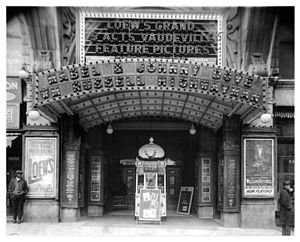 Loew's Grand Theatre - Loewes Grand Theater ca. 1920
