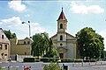 Lom náměstí s kostelem.JPG