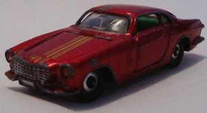 Lone Star Toys - Volvo 1800 coupe. Sometimes door matches were not the best on Lonestar cars - they were a step below Corgi or Dinky in accuracy.