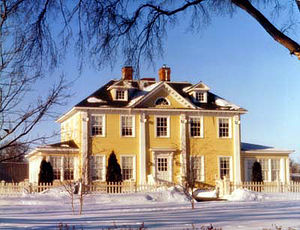 Longfellow House - The Longfellow House in 2003