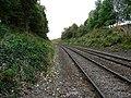 Looking down the line towards Weston Rhyn - geograph.org.uk - 1522593.jpg