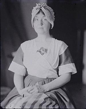 Loraine Wyman - A similar portrait; see caption above.