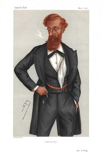 James Lindsay, 26th Earl of Crawford - Caricature of James Lindsay by Leslie Ward