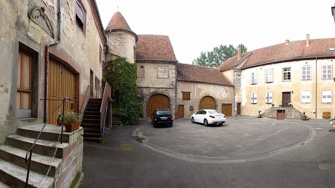 Alsace, Bas-Rhin, Château de Lorentzen (PA00085270, IA67005872).