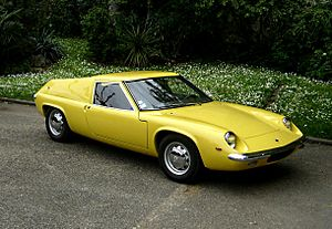 Mid-engine design - The Lotus Europa S1 was based on a prototype built to compete for Henry Ford II's contract to build a Le Mans race car in the early 1960s.