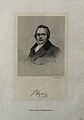 Louis Agassiz. Line engraving by F. Croll. Wellcome V0000044.jpg