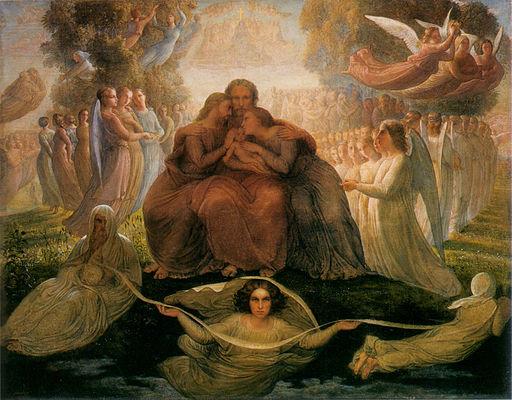 Louis Janmot - Poème de l'âme 1 - Génération divine