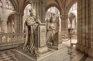 Edme Gaulle - Funerary monuments (not tombs) of Louis XVI and Marie-Antoinette, basilique Saint-Denis