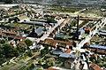 Lourches - Fosse Saint Mathieu, photochrome d'une vue aérienne.jpg