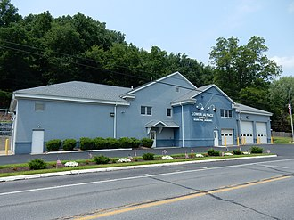 Lower Alsace Township, Berks County, Pennsylvania - Image: Lower Alsace Twp Bldg, Berks Co PA