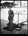 Lt. Edgar Allen Poe, who has the distinguished honor of being the first Marine Corps officer to serve aboard the U.S.S. Mayflower, the presidential yacht. He will take charge of the LCCN2016891914.jpg