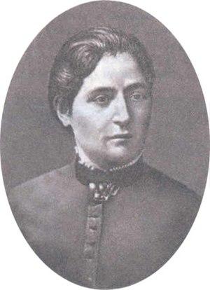 Lyubov Axelrod - Lyubov Axelrod, 1887.
