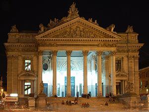 bourse de Bruxelles