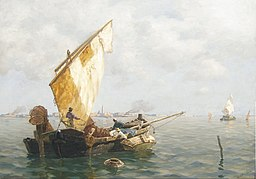 Rybacy w Wenecji
