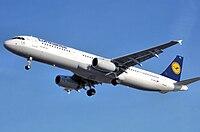 D-AISJ - A321 - Lufthansa