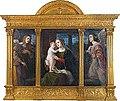 Luma von Flesch-Brunningen - Maria mit dem Kinde von Engeln angebetet.jpg