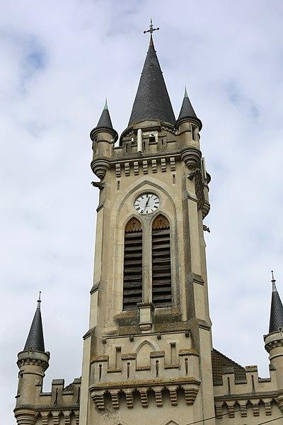 Église Sainte-Jeanne-d'Arc de Lunéville.