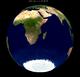 Lunar eclipse from moon-2002Jun24