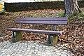 Luxembourg, banc contrebas bd d Avranches.jpg