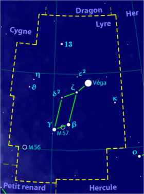 Image illustrative de l'article Lyre (constellation)
