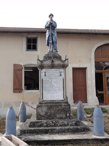 Ménil-la-Horgne (Meuse) monument aux morts