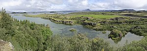 Mývatn - Mývatn, near Höfði Nature Park
