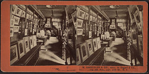 Knoedler - Image: M. Knoedler & Co. (interior.), from Robert N. Dennis collection of stereoscopic views