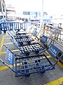 MC 澳門 Macau 金光飛航 Cotai Jet Pier 氹仔客運碼頭 Taipa Ferry Terminal piers Nov 2016 hand pull carts.jpg