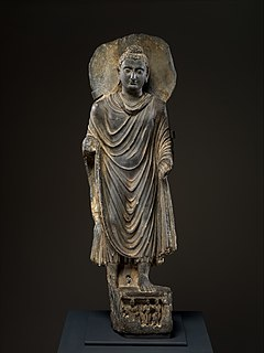 Greco-Buddhist art Artistic syncretism between Classical Greece and Buddhist India