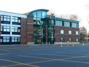 Mamaroneck High School - Auditorium Annex, constructed in 2005