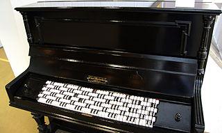 Jankó keyboard musical instrument part