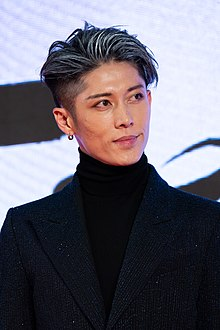 "MIYAVI from ""American Airlines"" at Opening Ceremony of the Tokyo International Film Festival 2019 (49014092957).jpg"