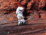 MOONWALK project astronaut - robot 2016-04-18 Rio Tinto.jpg