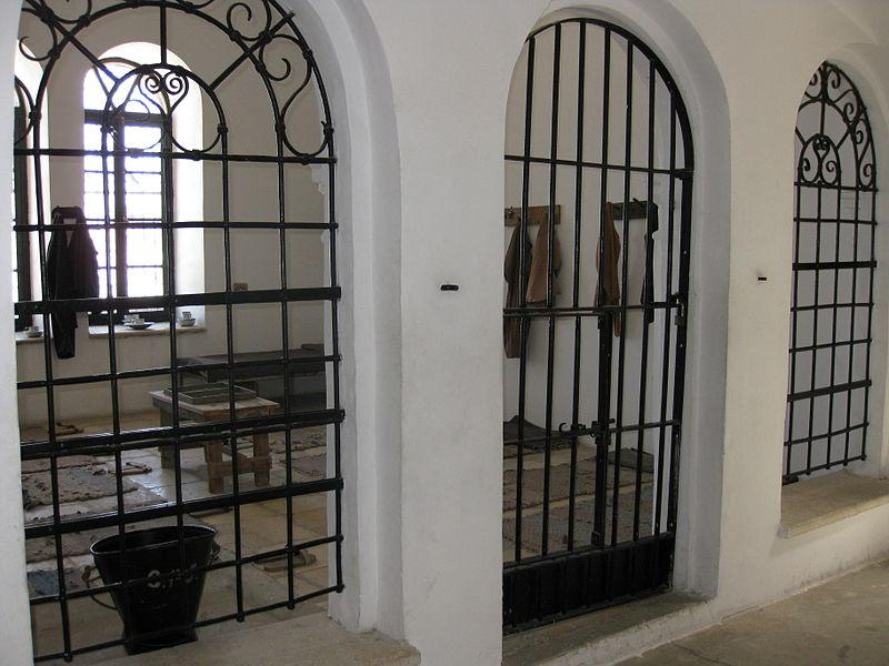 Modern Prison Cell Door