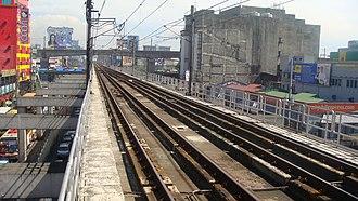 Araneta Center–Cubao MRT station - Image: MRT 3 Tracks Araneta Center Cubao 1