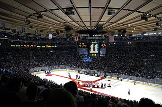The Velvet Rope Tour - The tour's date at Madison Square Garden (pictured) in New York City was filmed and aired on HBO, drawing fifteen million viewers.