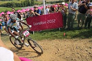MTB cycling 2012 Olympics M cross-country RWA Adrien Niyonshuti