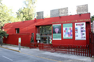 Leon Trotsky Museum, Mexico City House museum in Mexico City
