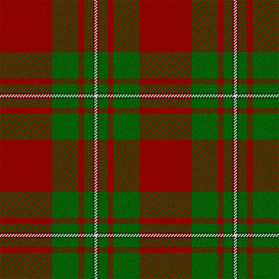 MacGregor Red and Green tartan