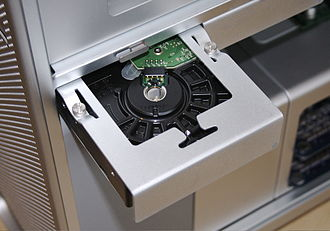 Mac Pro - An example of a Mac Pro's hard drive tray