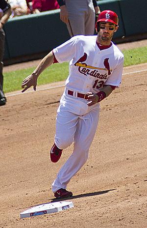 Matt Carpenter (baseball) - Carpenter running the bases in 2014
