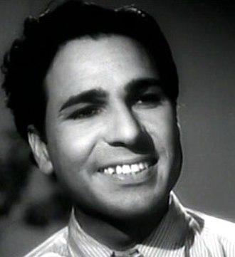 Madan Puri - Madan Puri in 1949 film Jeet