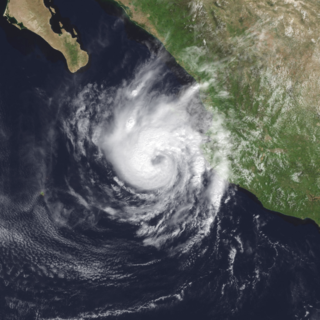 Hurricane Madeline (1998) Category 1 Pacific hurricane in 1998