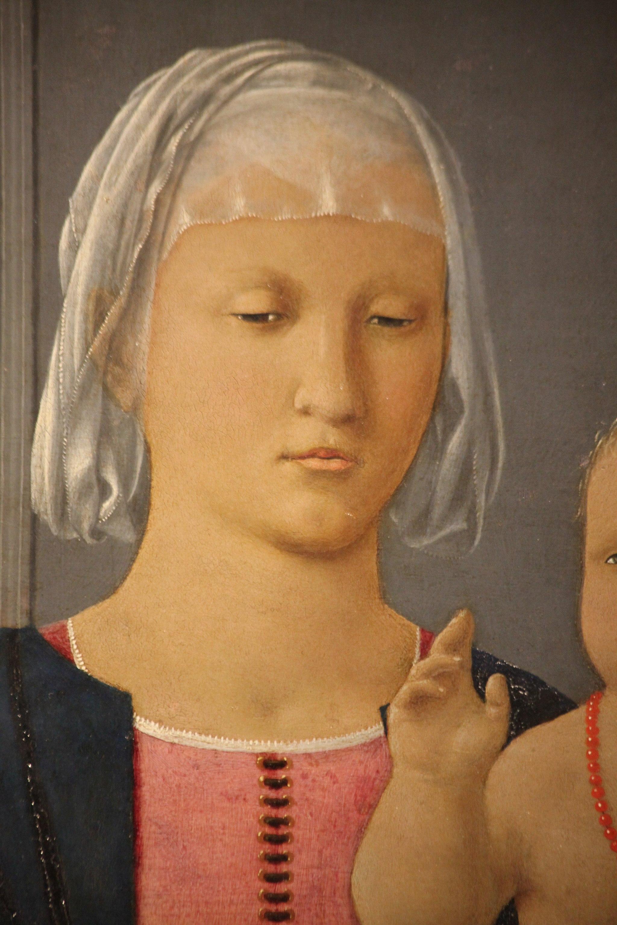 Madonna di Senigallia di Piero della Francesca, 1470-85,5
