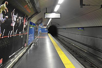 Chueca (Madrid Metro) - Image: Madrid Metro Estación de Chueca (7190286218)